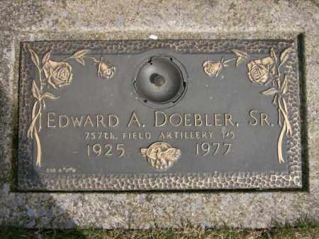 DOEBLER, EDWARD - Lycoming County, Pennsylvania | EDWARD DOEBLER - Pennsylvania Gravestone Photos