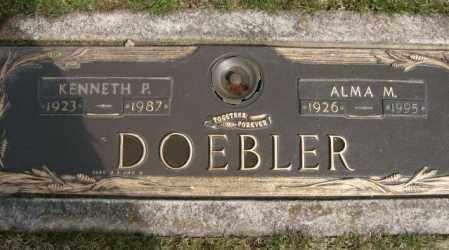 DOEBLER, ALMA - Lycoming County, Pennsylvania | ALMA DOEBLER - Pennsylvania Gravestone Photos
