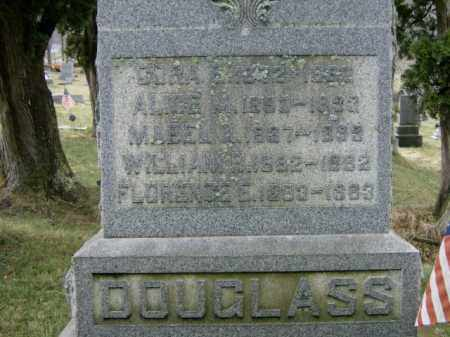 DOUGLASS, CORA - Lycoming County, Pennsylvania | CORA DOUGLASS - Pennsylvania Gravestone Photos