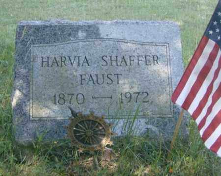 SHAFFER FAUST, HARVIA - Lycoming County, Pennsylvania | HARVIA SHAFFER FAUST - Pennsylvania Gravestone Photos