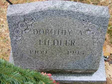 FIEDLER, DOROTHY - Lycoming County, Pennsylvania | DOROTHY FIEDLER - Pennsylvania Gravestone Photos