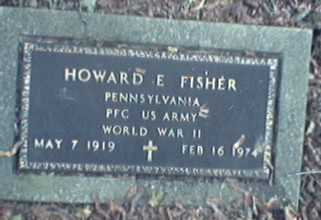FISHER, HOWARD - Lycoming County, Pennsylvania | HOWARD FISHER - Pennsylvania Gravestone Photos