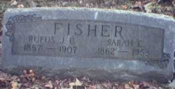 BERRY FISHER, SARAH - Lycoming County, Pennsylvania | SARAH BERRY FISHER - Pennsylvania Gravestone Photos