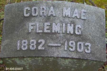 FLEMING, CORA MAE - Lycoming County, Pennsylvania | CORA MAE FLEMING - Pennsylvania Gravestone Photos