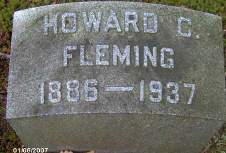 FLEMING, HOWARD C. - Lycoming County, Pennsylvania | HOWARD C. FLEMING - Pennsylvania Gravestone Photos