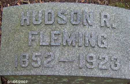 FLEMING, HUDSON R. - Lycoming County, Pennsylvania | HUDSON R. FLEMING - Pennsylvania Gravestone Photos