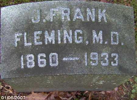 FLEMING, JOSEPH FRANKLIN M.D. - Lycoming County, Pennsylvania | JOSEPH FRANKLIN M.D. FLEMING - Pennsylvania Gravestone Photos