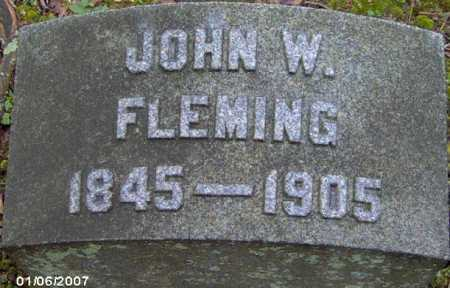 FLEMING, JOHN - Lycoming County, Pennsylvania | JOHN FLEMING - Pennsylvania Gravestone Photos