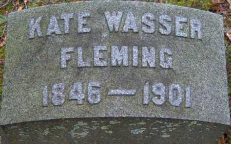 WASSER FLEMING, KATE - Lycoming County, Pennsylvania | KATE WASSER FLEMING - Pennsylvania Gravestone Photos
