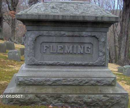 FLEMING, MONUMENT - Lycoming County, Pennsylvania | MONUMENT FLEMING - Pennsylvania Gravestone Photos
