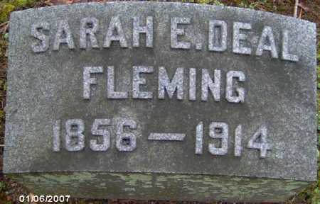 DEAL FLEMING, SARAH - Lycoming County, Pennsylvania | SARAH DEAL FLEMING - Pennsylvania Gravestone Photos