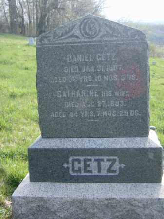 KIESS GETZ, CATHARINE - Lycoming County, Pennsylvania | CATHARINE KIESS GETZ - Pennsylvania Gravestone Photos