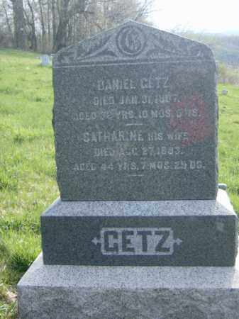 GETZ, CATHARINE - Lycoming County, Pennsylvania | CATHARINE GETZ - Pennsylvania Gravestone Photos