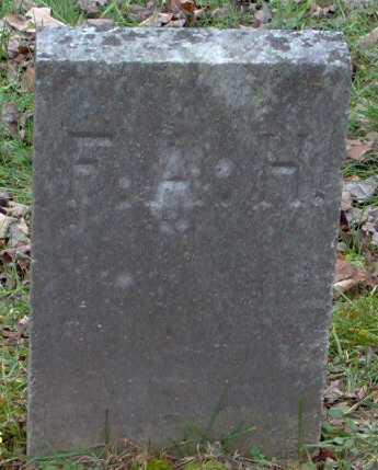 H., F. - Lycoming County, Pennsylvania | F. H. - Pennsylvania Gravestone Photos