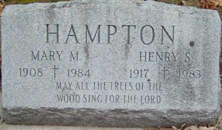 HAMPTON, MARY - Lycoming County, Pennsylvania | MARY HAMPTON - Pennsylvania Gravestone Photos
