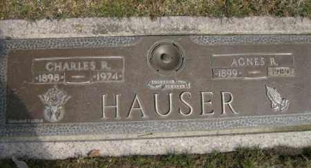 HAUSER, AGNES - Lycoming County, Pennsylvania | AGNES HAUSER - Pennsylvania Gravestone Photos