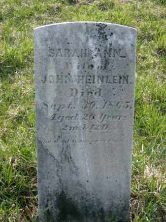 HEINLEIN, SARAH - Lycoming County, Pennsylvania   SARAH HEINLEIN - Pennsylvania Gravestone Photos