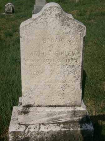 KIESS HEINLEN, SARAH - Lycoming County, Pennsylvania   SARAH KIESS HEINLEN - Pennsylvania Gravestone Photos