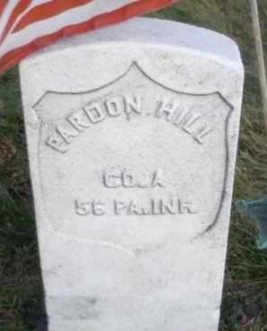 HILL (CW), PARDON - Lycoming County, Pennsylvania | PARDON HILL (CW) - Pennsylvania Gravestone Photos