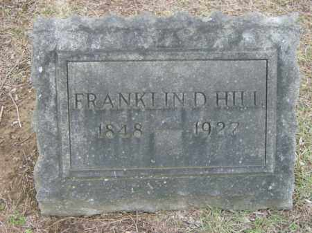 HILL, FRANKLIN - Lycoming County, Pennsylvania | FRANKLIN HILL - Pennsylvania Gravestone Photos