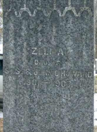 HOWARD, ZELMA - Lycoming County, Pennsylvania | ZELMA HOWARD - Pennsylvania Gravestone Photos