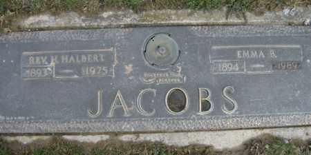 JACOBS, EMMA - Lycoming County, Pennsylvania   EMMA JACOBS - Pennsylvania Gravestone Photos