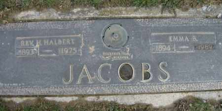 JACOBS, EMMA - Lycoming County, Pennsylvania | EMMA JACOBS - Pennsylvania Gravestone Photos