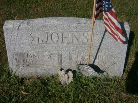 JOHNS, F. - Lycoming County, Pennsylvania | F. JOHNS - Pennsylvania Gravestone Photos