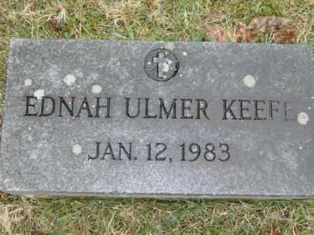 KEEFE, EDNAH - Lycoming County, Pennsylvania | EDNAH KEEFE - Pennsylvania Gravestone Photos