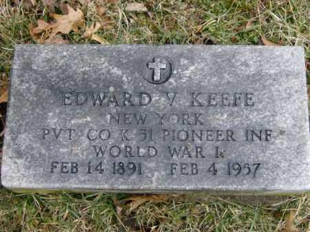 KEEFE, EDWARD - Lycoming County, Pennsylvania   EDWARD KEEFE - Pennsylvania Gravestone Photos