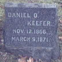 KEEFER, DANIEL - Lycoming County, Pennsylvania | DANIEL KEEFER - Pennsylvania Gravestone Photos