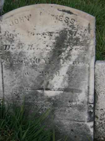 KIESS, JOHN - Lycoming County, Pennsylvania | JOHN KIESS - Pennsylvania Gravestone Photos