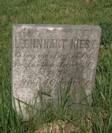 KIESZ, LEOHNHART - Lycoming County, Pennsylvania | LEOHNHART KIESZ - Pennsylvania Gravestone Photos