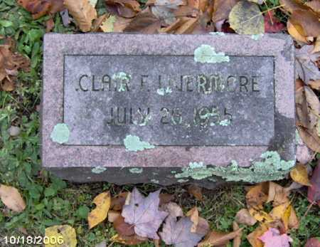 LIVERMORE, CLAIR - Lycoming County, Pennsylvania | CLAIR LIVERMORE - Pennsylvania Gravestone Photos