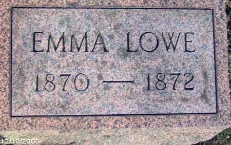 LOWE, EMMA - Lycoming County, Pennsylvania | EMMA LOWE - Pennsylvania Gravestone Photos