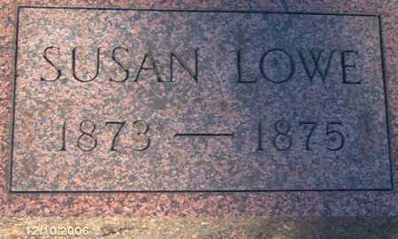 LOWE, SUSAN - Lycoming County, Pennsylvania | SUSAN LOWE - Pennsylvania Gravestone Photos