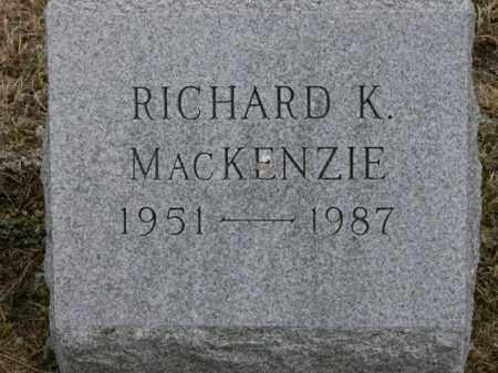 MACKENZIE, RICHARD - Lycoming County, Pennsylvania | RICHARD MACKENZIE - Pennsylvania Gravestone Photos