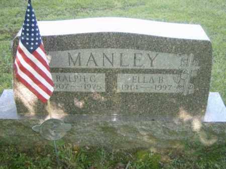 MANLEY, ELLA - Lycoming County, Pennsylvania | ELLA MANLEY - Pennsylvania Gravestone Photos