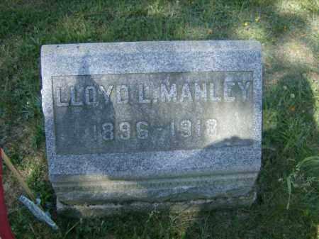 MANLEY, LLOYD - Lycoming County, Pennsylvania | LLOYD MANLEY - Pennsylvania Gravestone Photos