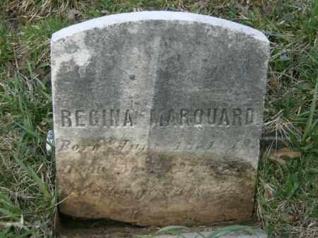 MARQUARD, REGINA - Lycoming County, Pennsylvania | REGINA MARQUARD - Pennsylvania Gravestone Photos