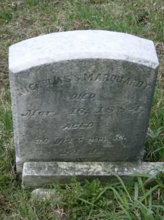 MARQUARDT, NICHOLAS - Lycoming County, Pennsylvania | NICHOLAS MARQUARDT - Pennsylvania Gravestone Photos