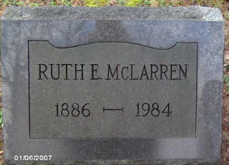 MCLARREN, RUTH - Lycoming County, Pennsylvania | RUTH MCLARREN - Pennsylvania Gravestone Photos