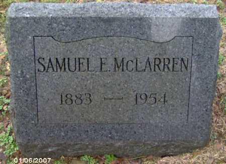 MCLARREN, SAMUEL - Lycoming County, Pennsylvania | SAMUEL MCLARREN - Pennsylvania Gravestone Photos