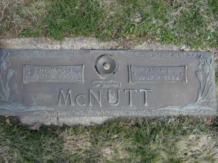MCNUTT, THOMAS - Lycoming County, Pennsylvania | THOMAS MCNUTT - Pennsylvania Gravestone Photos