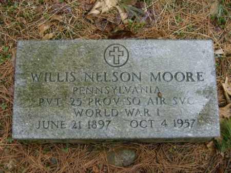 MOORE, WILLIS - Lycoming County, Pennsylvania | WILLIS MOORE - Pennsylvania Gravestone Photos