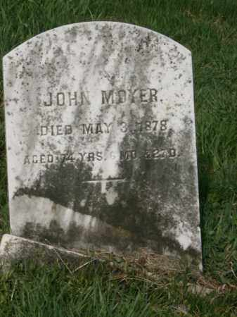 MOYER, JOHN - Lycoming County, Pennsylvania | JOHN MOYER - Pennsylvania Gravestone Photos