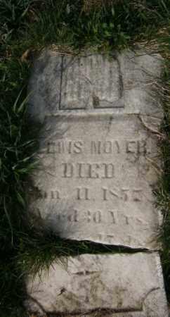 MOYER, LEWIS - Lycoming County, Pennsylvania | LEWIS MOYER - Pennsylvania Gravestone Photos
