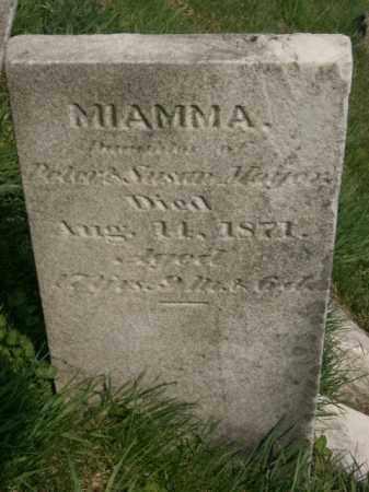 MOYER, MIAMMA - Lycoming County, Pennsylvania   MIAMMA MOYER - Pennsylvania Gravestone Photos