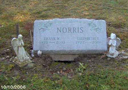 NORRIS, ELIZABETH - Lycoming County, Pennsylvania | ELIZABETH NORRIS - Pennsylvania Gravestone Photos
