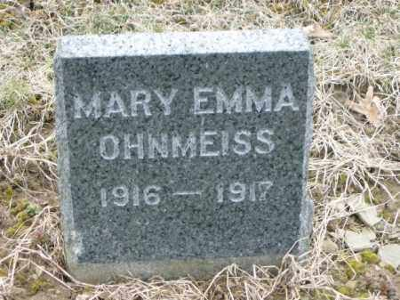 OHNMEISS, MARY - Lycoming County, Pennsylvania | MARY OHNMEISS - Pennsylvania Gravestone Photos